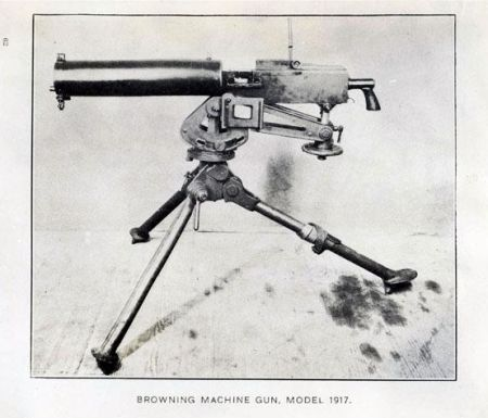 Browning machine gun, 1917