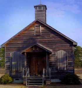 Burnt Swamp Baptist Association building