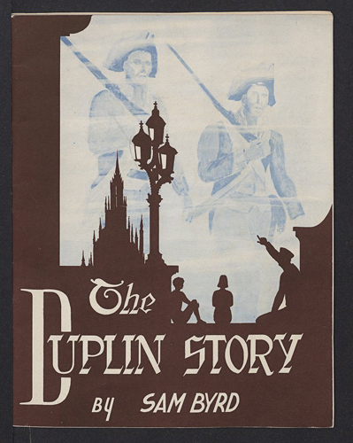 """The Duplin Story."" Image courtesy of East Carolina University."