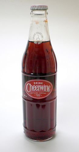 Cheerwine bottle