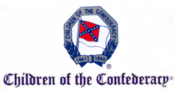 """children of the confederacy emblem."" image courtesy fo the children of the confederacy."