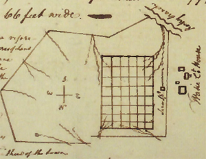 William Christmas's original plan for Raleigh