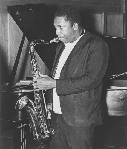John Coltrane. Courtesy of the John Coltrane Media Library.