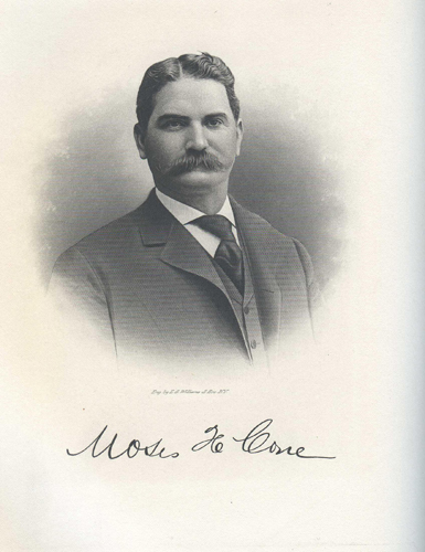 Moses Cone. Image courtesy of Textiles History.