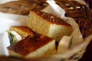 Cornbread. Image courtesy of Flickr user Dennis Myashiro.