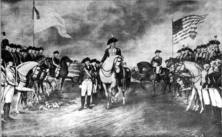 Trumbull's surrender of Lord Cornwallis at Yorktown