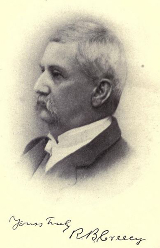 "Richard Creecy. Image courtesy of ""Grandfather's tales of North Carolina history."""