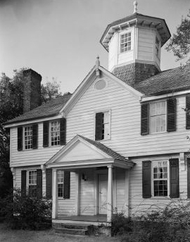 Home of Francis Corbin, land agent, Cupola House, Edenton. Image courtesy of Library of Congress.
