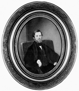 Alexander Jackson Davis. Image courtesy of University of North Carolina at Chapel Hill Carolina Digital Library and Archives.