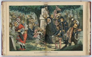"""Decoration-day, 1883."" Created by Bernhard Gilliam 1856-1896, artist. Image courtesy of Library of Congress."