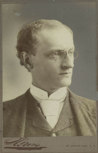 Henry deMille. Image courtesy of New York Public Library.