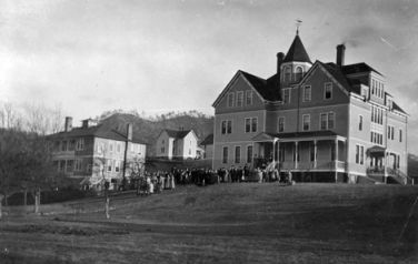 Dorland-Bell School. Image courtesy of Warren Wilson College.