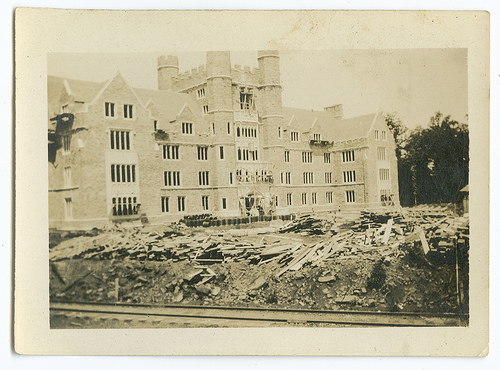 """Medical School, Duke University,"" June 1929  Image courtesy of Duke University Archives. Durham, North Carolina, USA."