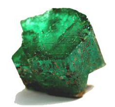 65 carat emerald found in Hiddenite, North Carolina. Image available from Discovery Channel.