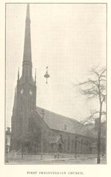 The Argyll Colonist were the first to bring the Presbyterian religion to the Cape Fear Region. First Presbyterian Church, Wilmington, NC, 1902. Image courtesy of UNC Libraries.