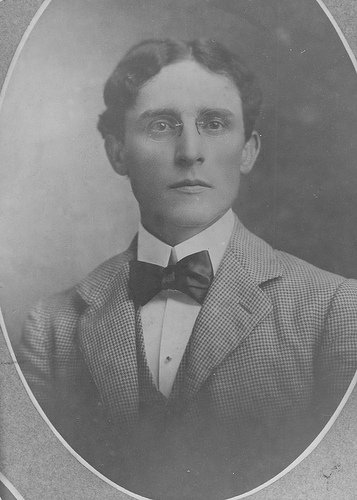 """Robert Lee Flowers, 1897.""  Courtesy of Duke University Archives."