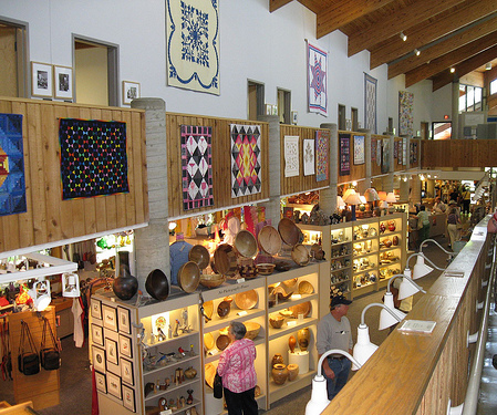 Inside the Folk Art Center. Image courtesy of Flickr user Lal Beral.