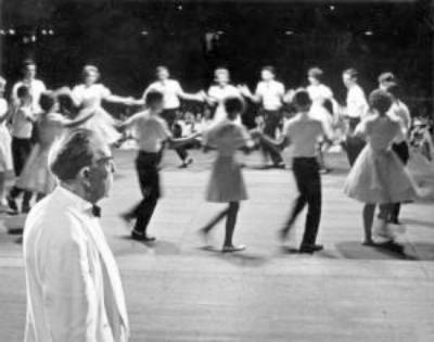 The Mountain Dance and Folk Festival is where group cloggin got its start. Image courtesy of <a  data-cke-saved-href=