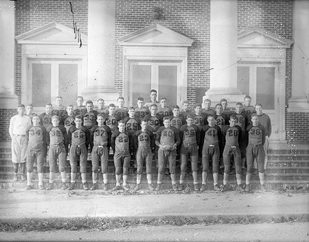 "Lewis White Studio. 1930s. ""Unidentified football players, Dunn area."" North Carolina State Archives. Photograph Collection, Ph.C.121. Online at Flickr."