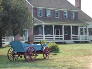 Fort Defiance. Image courtesy of NC Office of Archives & History.