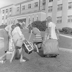 Moving Into the Dorms, 1960s