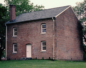 Historic Halifax Jail, built in 1838. Image courtesy of NC Historic Sites.