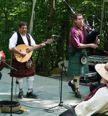 Highland Games at MacRae Meadows. Image courtesy of Flickr user AMWRanes.