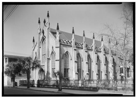 French Protestant Huguenot Church. Image Courtesy of Library of Congress.
