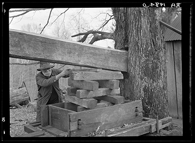 Cider mill at Crabtree Creek recreational demonstration area near Raleigh, North Carolina. Photograph by Carl Mydans, 1936. From the Farm Security Administration Collection, Library of Congress Prints and Photographs Online Collection.
