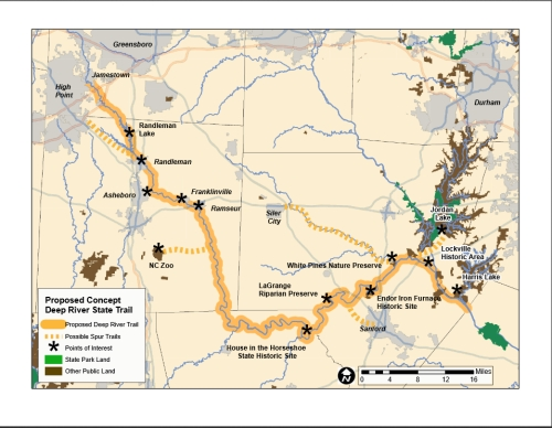 Deep River State Trail | NCpedia on