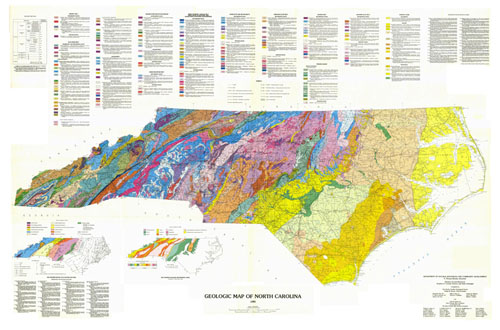 Pics For Gt North Carolina Natural Resources Map