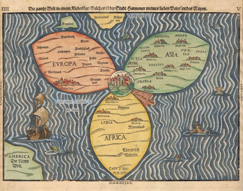 Map Of The World Before Columbus.Ncpedia Ncpedia