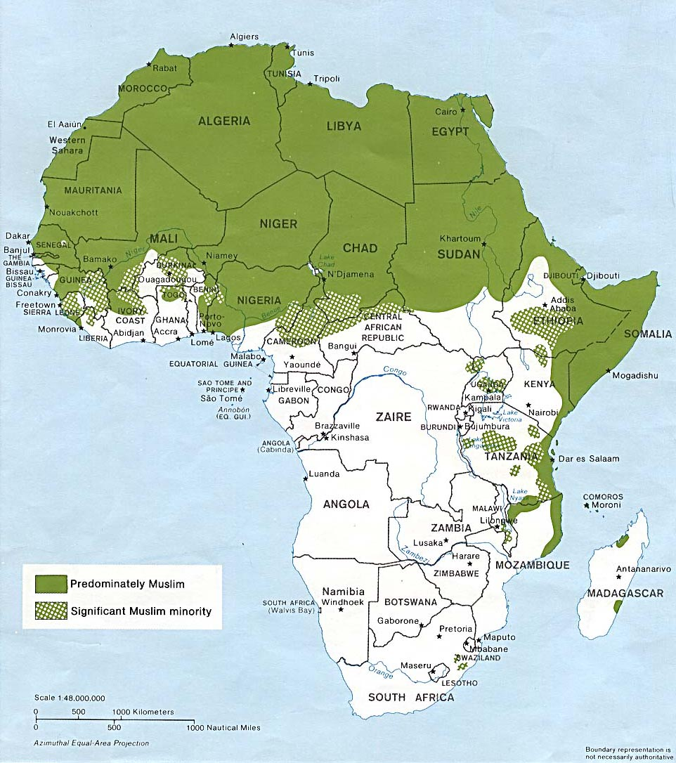 Map Of Africa Today.Ncpedia Ncpedia