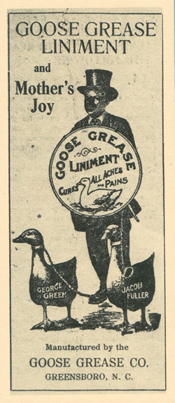 Goose Grease Liniment
