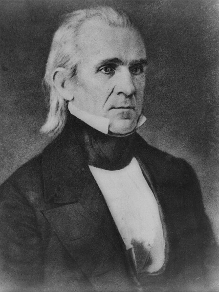 James K. Polk, a North Carolina native, presided over the greatest expansion of U.S. territory in history.