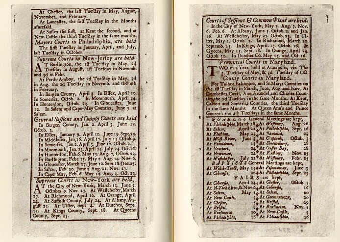 Poor Richard's Almanack, 1733