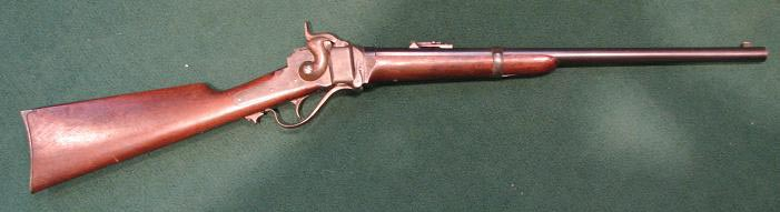 An 1863 Sharps carbine.