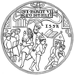 1552 English school seal