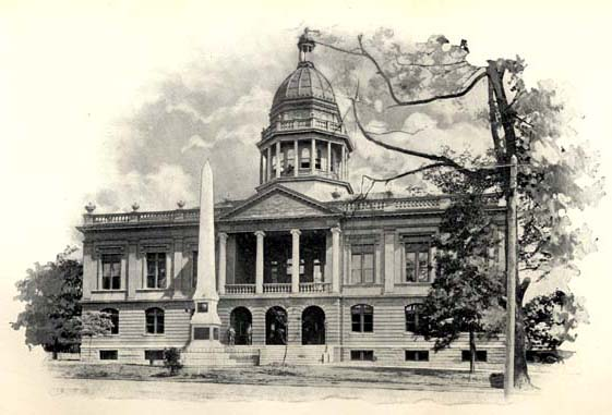 Court House, Charlotte, 1898
