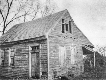 Constitution-Burgess House in Halifax in the early twentieth century, before it was restored. Tradition holds that North Carolina's first state constitution was framed and adopted in the house. North Carolina Collection, University of North Carolina at Chapel Hill Library.