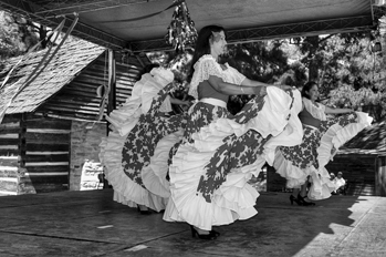 Venezuelan dancers perform at the 2005 Fiesta del Pueblo, an annual festival celebrating Latino culture in North Carolina. Photograph courtesy of El Pueblo, Inc.