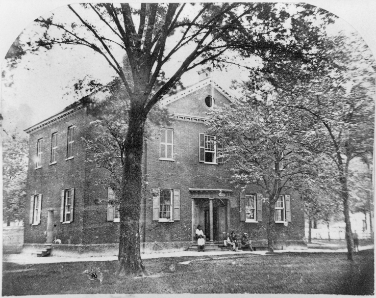 New Bern Academy, ca. 1864. North Carolina Collection, University of North Carolina at Chapel Hill Library.