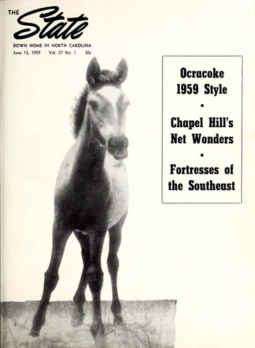 <i>The State</i>, cover, June 13, 1959.  From NC Digital Collections, used by permission.