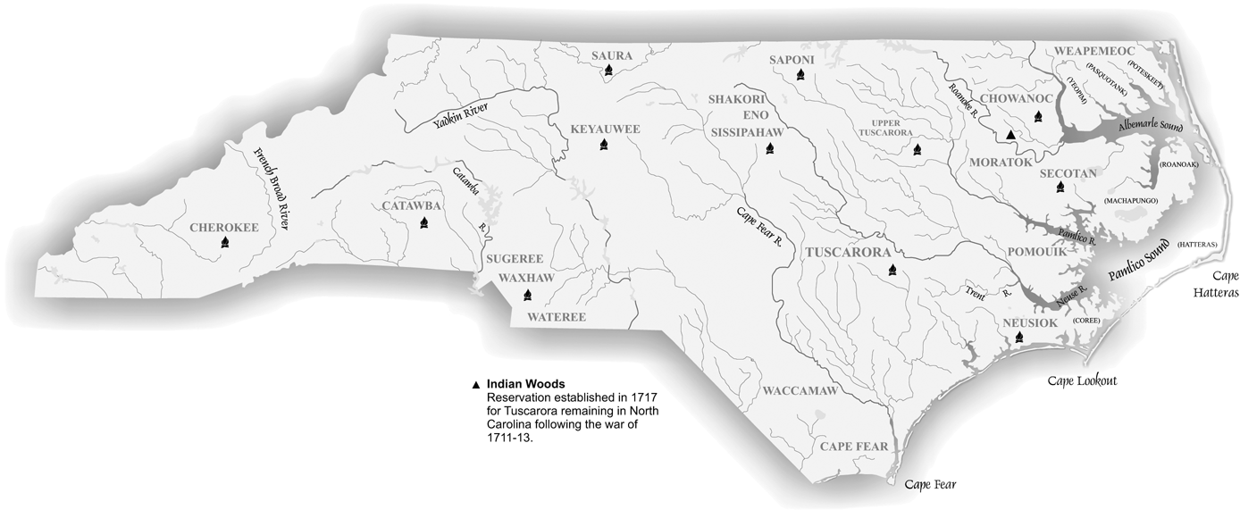 American Indians Part European Contact To The Era Of Removal - Map of native american banks in us