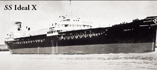 SS Ideal-X, Image source: Maersk/SeaLand.