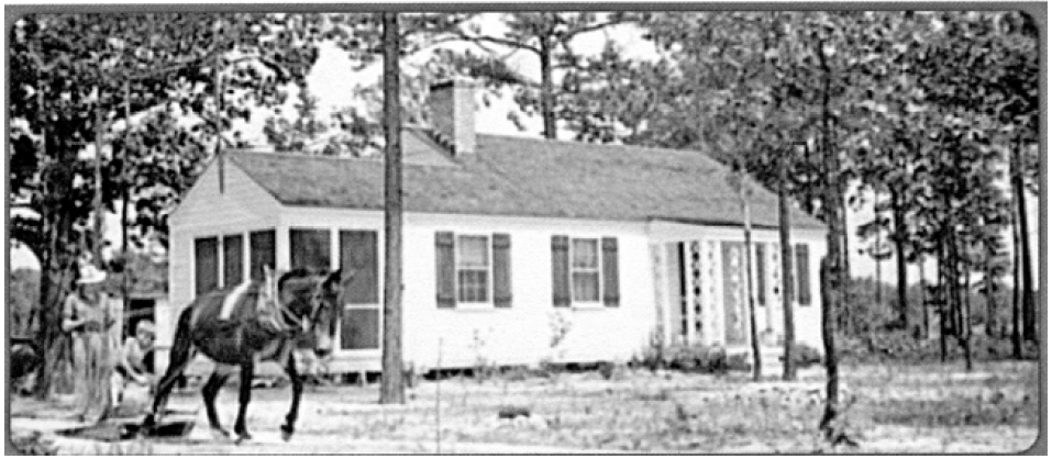An early home built at Penderlea.