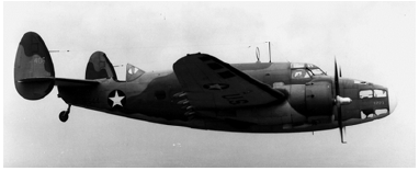 A-29 bomber planes like this one began to help watch over ships off the Tar Heel coast because of the Uboat threat.