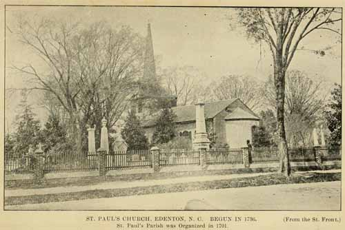 In 1738 Alston served on the vestry of St. Paul's Parish. From the Internet Archive.