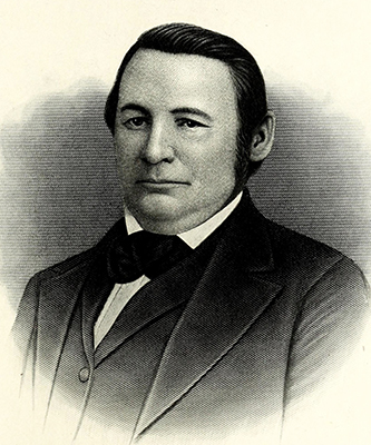 An engraving of William Sheppard Ashe published in 1917. Image from the Internet Archive / N.C. Goverment & Heritage Library.