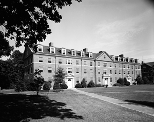 Avery Hall, completed in 1958, was named after William Waightstill Avery.